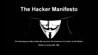 hacker manifesto