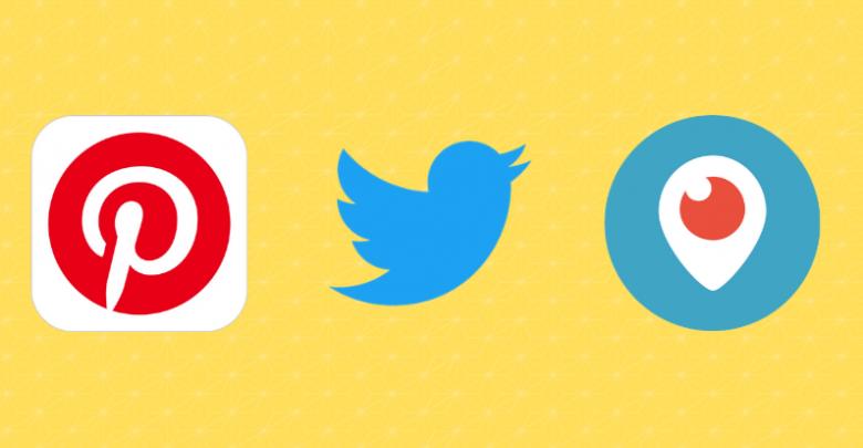 Twitter Pinterest Periscope Rekla Yasağı